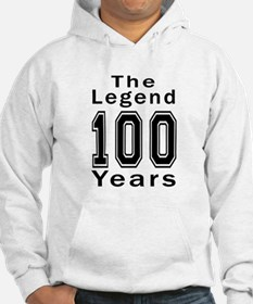 100 Legend Birthday Designs Hoodie