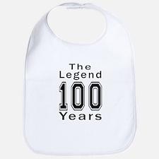 100 Legend Birthday Designs Bib