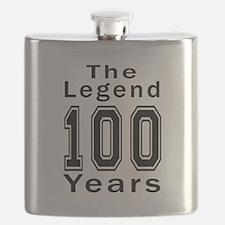 100 Legend Birthday Designs Flask