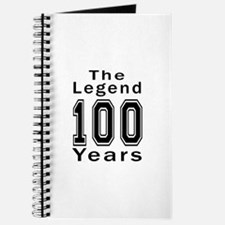 100 Legend Birthday Designs Journal
