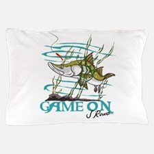J Rowe Snook - Game On Pillow Case