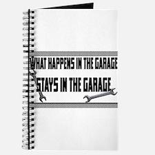garage stays in garage Journal