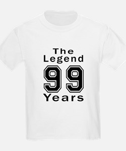 99 Legend Birthday Designs T-Shirt