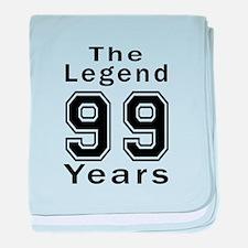 99 Legend Birthday Designs baby blanket