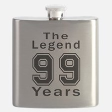 99 Legend Birthday Designs Flask