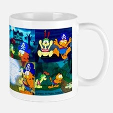 Garfield's Halloween Adventure Mugs