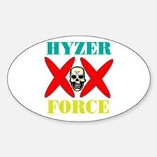 Hyzer Force Oval Decal