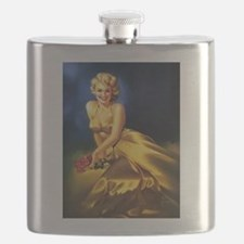 Pin Up: Extravagent Dress ! Flask