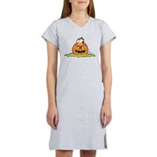 Day of the Dead Snoopy Pumpkin Women's Nightshirt