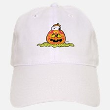 Day of the Dead Snoopy Pumpkin Baseball Baseball Cap