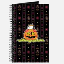 Day of the Dead Snoopy Pumpkin Journal