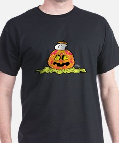 Day of the Dead Snoopy Pumpkin T-Shirt