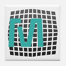 Cool Giant Monogram Tile Coaster
