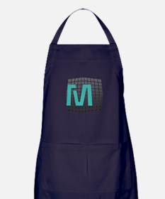 Cool Giant Monogram Apron (dark)