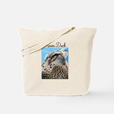 Female Rouen Duck in Water Tote Bag