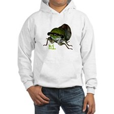 Cicada hi. Hoodie