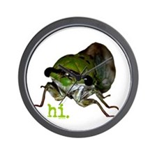 Cicada hi. Wall Clock