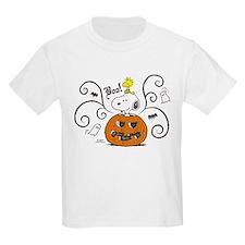 Peanuts Snoopy Sketch Pumpkin T-Shirt