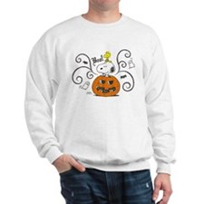 Peanuts Snoopy Sketch Pumpkin Sweatshirt