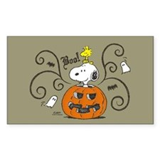 Peanuts Snoopy Sketch Pumpkin Decal