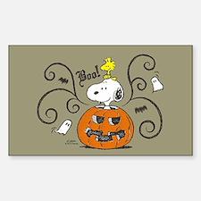 Peanuts Snoopy Sketch Pumpkin Decal