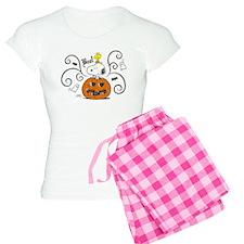 Peanuts Snoopy Sketch Pumpk Women's Light Pajamas