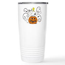 Peanuts Snoopy Sketch P Travel Coffee Mug