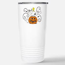 Peanuts Snoopy Sketch P Travel Mug