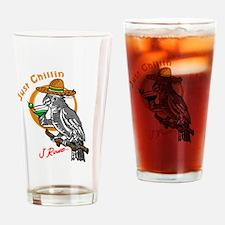 J Rowe Just Chillin Cockatoo Drinking Glass