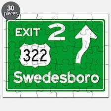 NJTP Logo-free Exit 2 Swedesbor Puzzle