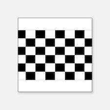 """Cute Checkered Square Sticker 3"""" x 3"""""""