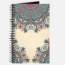 Floral Pattern Journal
