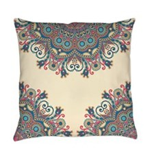 Floral Pattern Everyday Pillow