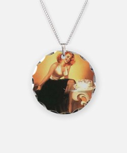 Unique Sexy pinups Necklace