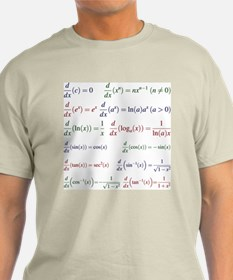 Derivatives of Functions T-Shirt