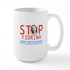 STOP FIORINA  anti Carly Fiorina  Mug