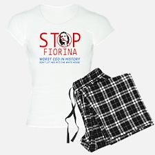 STOP FIORINA anti Carly Fi Pajamas