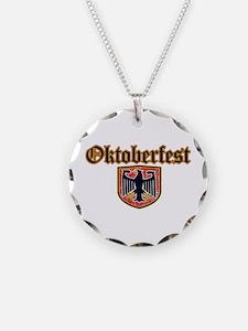 Oktoberfest Shield Necklace