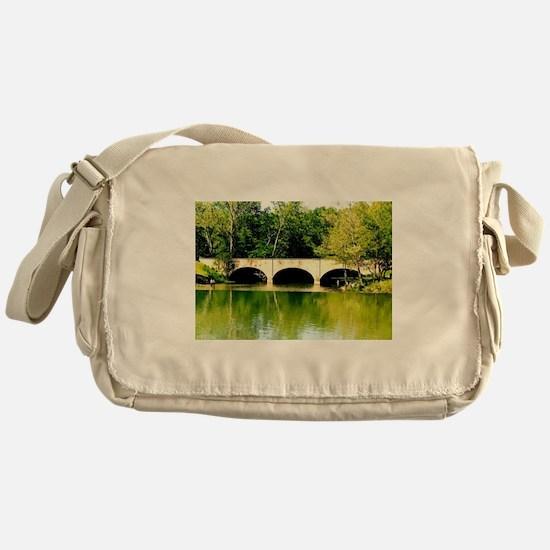 Reflected Images. Messenger Bag