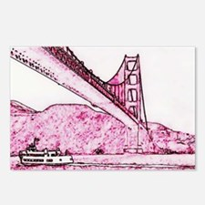 Golden Gate. Postcards (Package of 8)