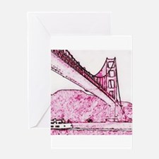 Golden Gate. Greeting Cards