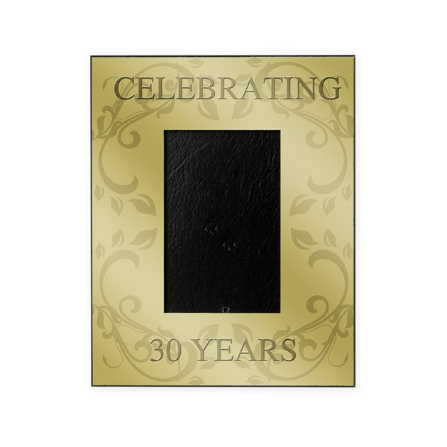 30th Wedding Anniversary Picture Frame By Admin CP1519247