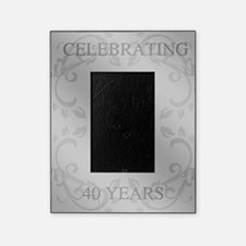 40th Wedding Anniversary Picture Frame