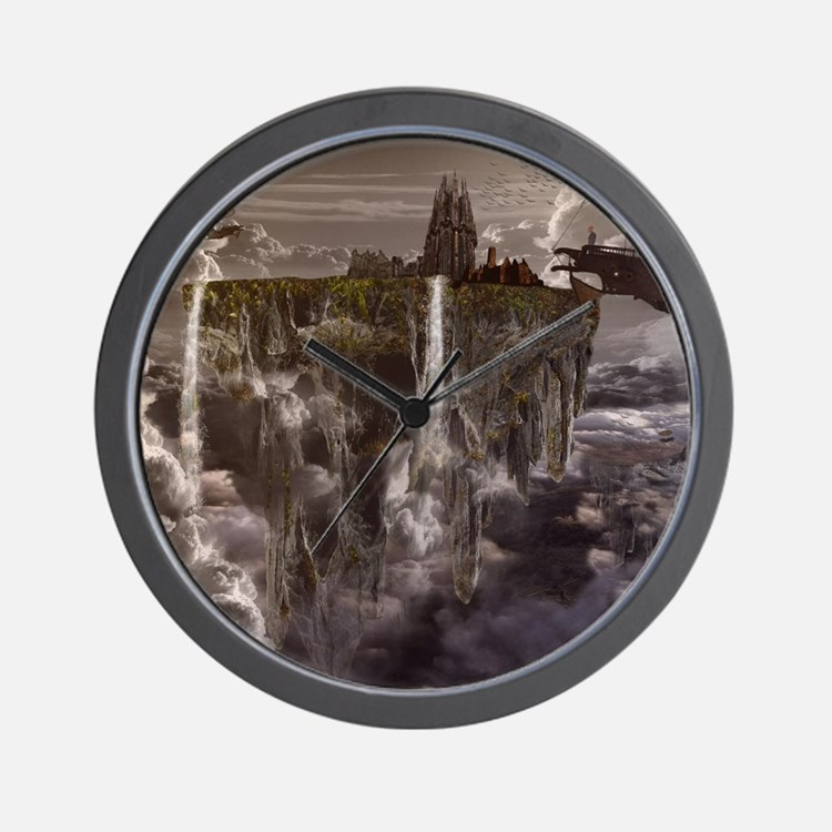 Cute Scifi Wall Clock