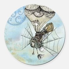 Cute Fantasy and scifi Round Car Magnet