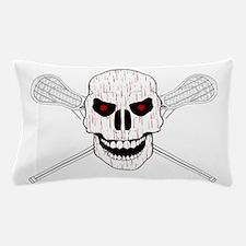 Bloody Lacrosse Skull Pillow Case