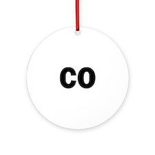 CO Ornament (Round)