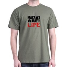 For LIFE Macaw T-Shirt 1