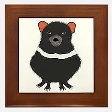 Tasmanian Devil Framed Tile