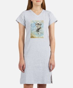 Cute Fantasy and scifi Women's Nightshirt
